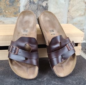 Birkenstock L 7 M 5 Papillio Leather Sandals